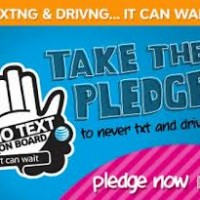 Giveaway: Pledge Not To Text And Drive. It Can Wait!