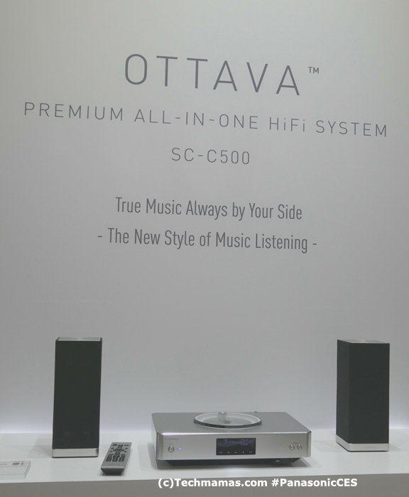 Panasonic OTTAVA SCC500 HiFi System