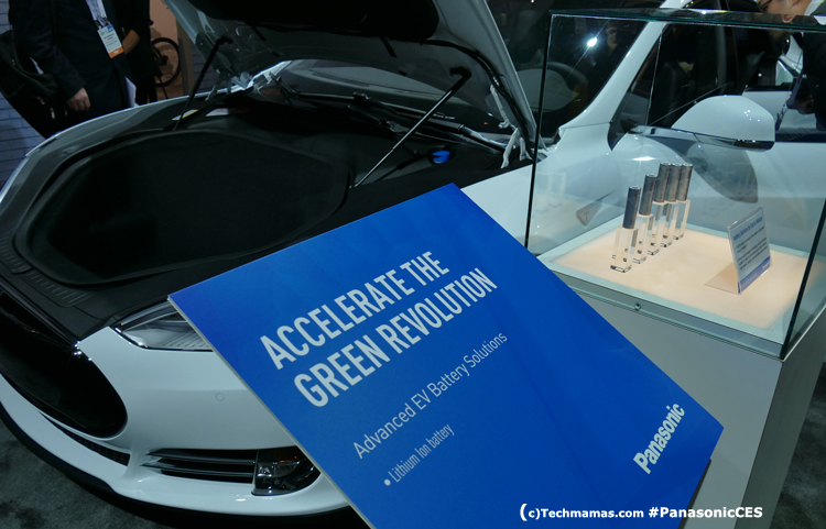 Panasonic Tesla Batteries