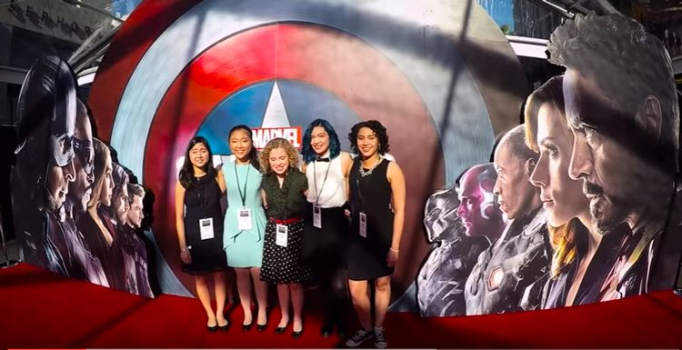 Dolby And Partners Announce Winner of Girls & STEM Captain America Contest